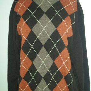 BARBOUR μάλλινο αντρικό πουλόβερ XL καινούργιο