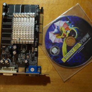 Κάρτα γραφικών GeForce Fx5200 64-bit 128mb (2003)