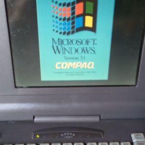 COMPAC CONTURA 410CX MS DOS 6.20 - WIN 3.1 COMPAC OEM