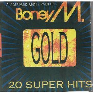 CD  / BONEY M / GOLD /  ORIGINAL CD