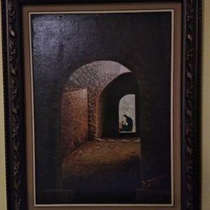 Πίνακας σε μουσαμά