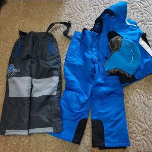 Παντελόνι σκι, μπουφάν, σκούφος παιδικό