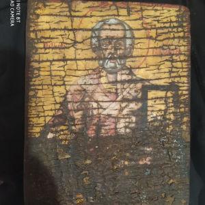 βυζαντινή εικόνα Αγίου Νικολάου