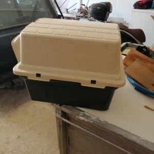 Κουτί σκύλου Αχρησιμοποιητο