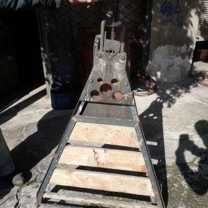 Τρίποδο φορητό Παγκάκι για επεξεργασία σωλήνων