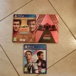 2 παιχνίδια PS4 (Πωλούνται ξεχωριστά ή όλα μαζί σύμφωνα με την περιγραφή)