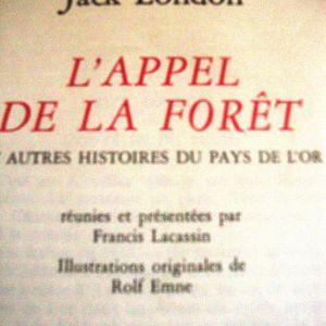 Jack London.L Appel De la Foret