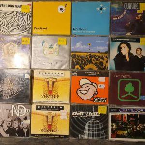 Πωλούνται 30 cd singles trance house techno progressive