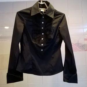 Πουκάμισο μαύρο Karen Millen