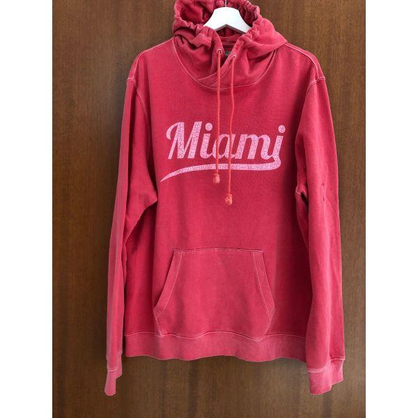 mplouza me koukoula Miami Beach Florida Hooded Sweatshirt antriko megethos XL Limited Edition