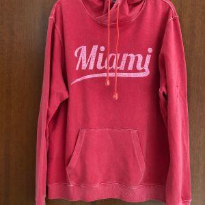 Μπλούζα με κουκούλα Miami Beach Florida Hooded Sweatshirt Αντρικό Μέγεθος XL Limited Edition