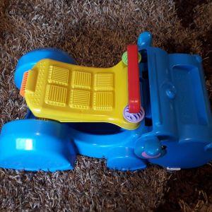 Περπατούρα - στράτα - όχημα Fisher Price