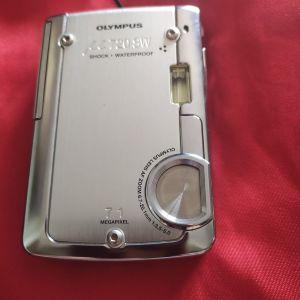 φωτογραφική μηχανή Olympus μ720sw