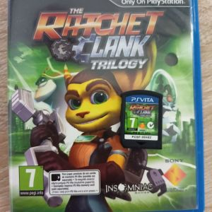 Ratchet and Clank Trilogy PSVITA ΥΠΕΡ-ΣΠΑΝΙΟ!