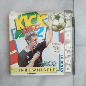 Atari ST game Kick Off 2 The Final Whistle