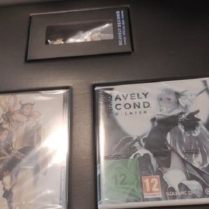 collector's edition Bravely Second + Bravely Default Nintendo 3ds