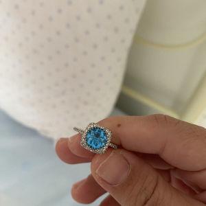 δαχτυλίδι με μπριγιαν