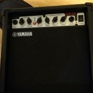 Κιθάρα Ηλεκτρική Yamaha, ενισχυτής, σταντ, θήκη, κουρδιστήρι, πένες