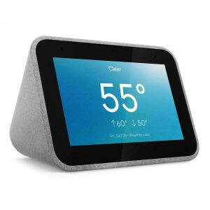 LENOVO Smart Clock with Google Assistant (Smart Home)