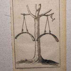 ΓΚΡΑΒΟΥΡΑ του 1776 ΜΕ ΜΟΝΑΣΤΗΡΙΑΚΑ ΣΗΜΑΝΤΡΑ