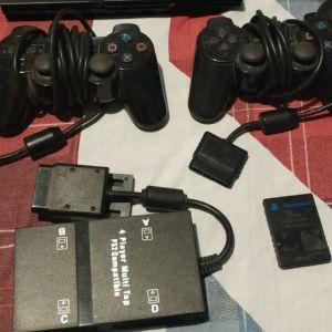 Playstation 2 Controllers & Multitab 10euro each