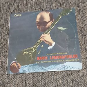 HARRY LEMONOPOULOS - The Golden Fingers Of Harry Lemonopoulos Play Theodorakis, Hatzidakis, Lemonopoulos