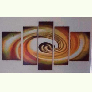 Πεντάπτυχος πίνακας σε μουσαμά
