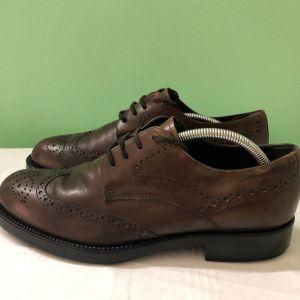 παπούτσια TODS δερμάτινα 43 νούμερο