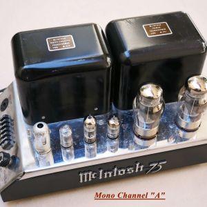 Mono-Βlock Λαμπάτοι τελικοί ενισχυτές McIntosh MC75