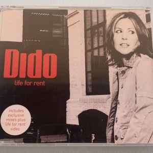 Dido - Life for rent made in the EU 4-trk cd single