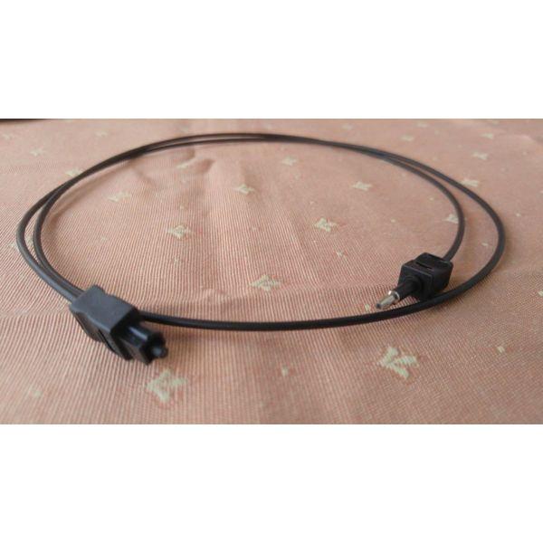 Fibre optic Sony cable. optiki ina tis Sony