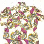 Vintage Πολύχρωμο Γυναικείο Πουκάμισο, Νο2