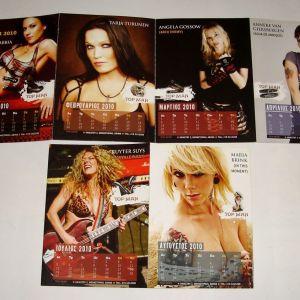 Metal Ημερολόγιο 2010