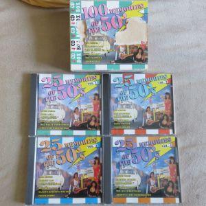4 CD Box - 100 Memories of the 50's