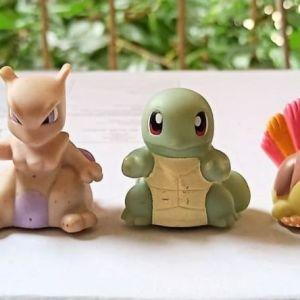 5 pokemon sliders (rollers), συλλεκτικές φιγούρες Nintendo Oddzon 1999