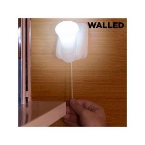 Φορητό Φωτάκι LED με Κορδόνι Walled LB15 (πακέτο με 3)
