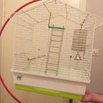 κλουβι παπαγάλου & stand