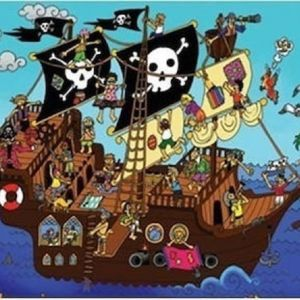 Puzzle: Το καράβι των πειρατών