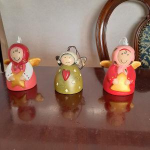 Χριστουγεννιατικα αγγελακια καμπανουλες