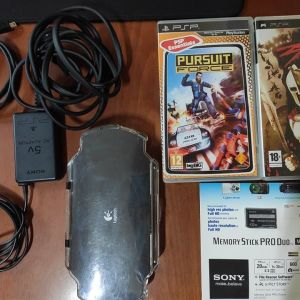 PSP 1000 + Games