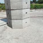 τσιμεντοσωληνες βοθρου 2 μετρα διάμετρος ύψος 70 πόντους ολισμένοι παράδοση στο  χώρο σας 100 ε
