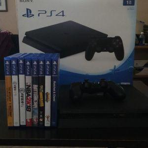 PS4 Slim 1TB Boxed + 1 χειριστήριο