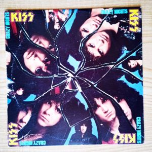 KISS - Crazy Nights (1987) Δισκος βινυλιου Glam, Hard Metal Rock