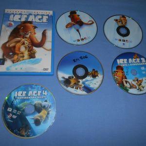 Η ΕΠΟΧΗ ΤΩΝ ΠΑΓΕΤΩΝΩΝ / ICE AGE 4 ΤΑΙΝΙΕΣ - DVD