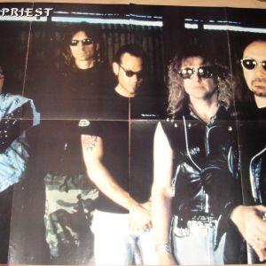 Αφίσα Judas Priest / Virgin Steele