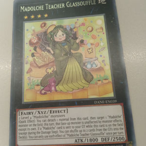 Madolche Teacher Glassouffle (Rare)
