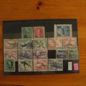 Πωλούνται πλήρεις 2 σειρές των ολυμπιακών αγώνων του Μονάχου 1936 (Deutsches reich)
