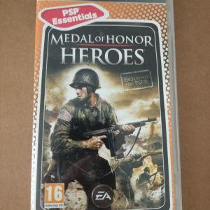 Θηκη για κασετα PSP *MEDAL OF HONOR HEROES*.