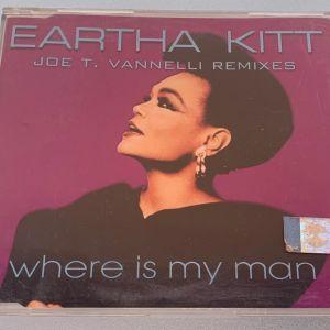 Eartha Kitt - Where is ma man Joe T. Vannelli remixes 5-trk cd single