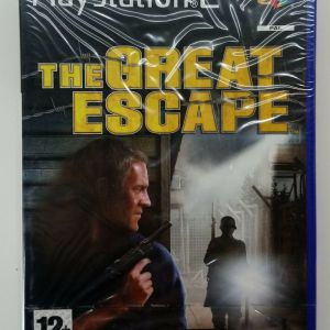 THE GREAT ESCAPE PS2 PLAYSTATION 2 TWO VIDEO GAME EUROPEAN PAL
